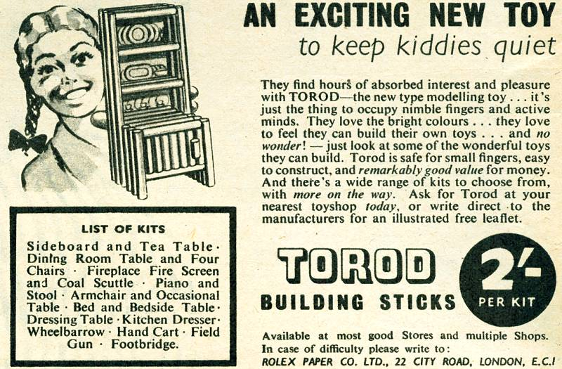 Torod Building Sticks