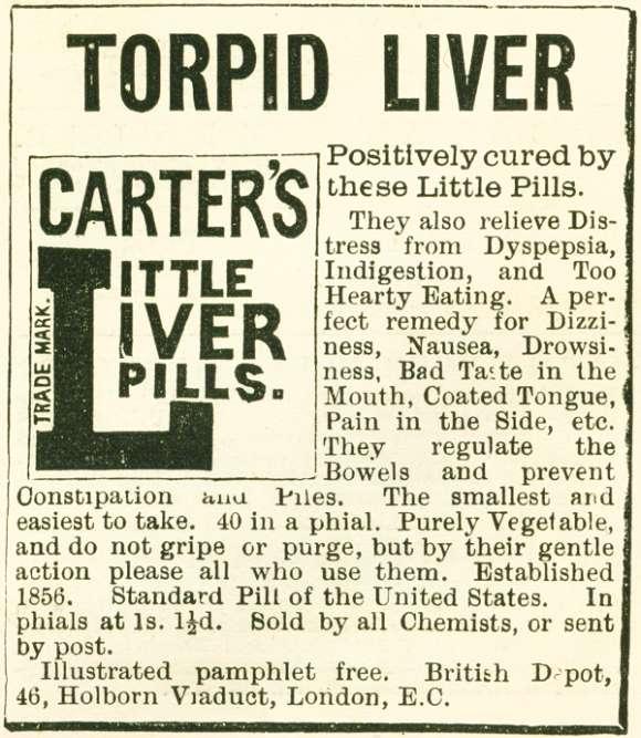 Torpid Liver Pills