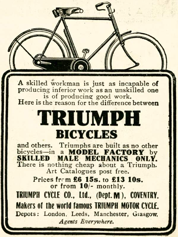 Triumph Bicycles