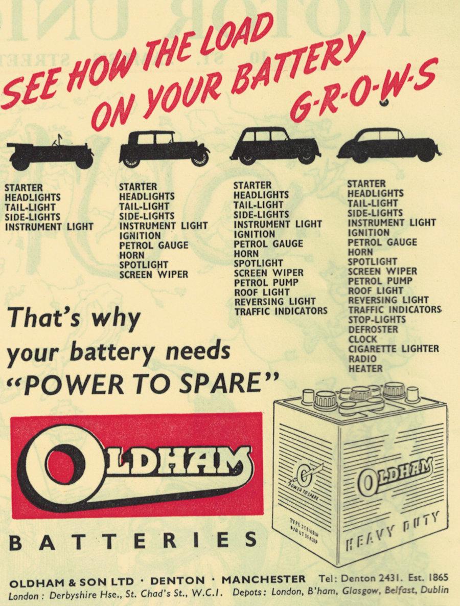 Oldham Batteries