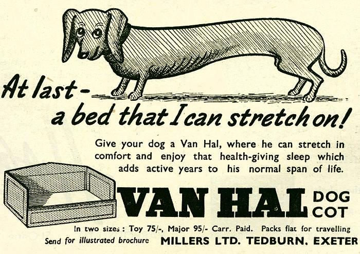 Van Hal Dog Cot