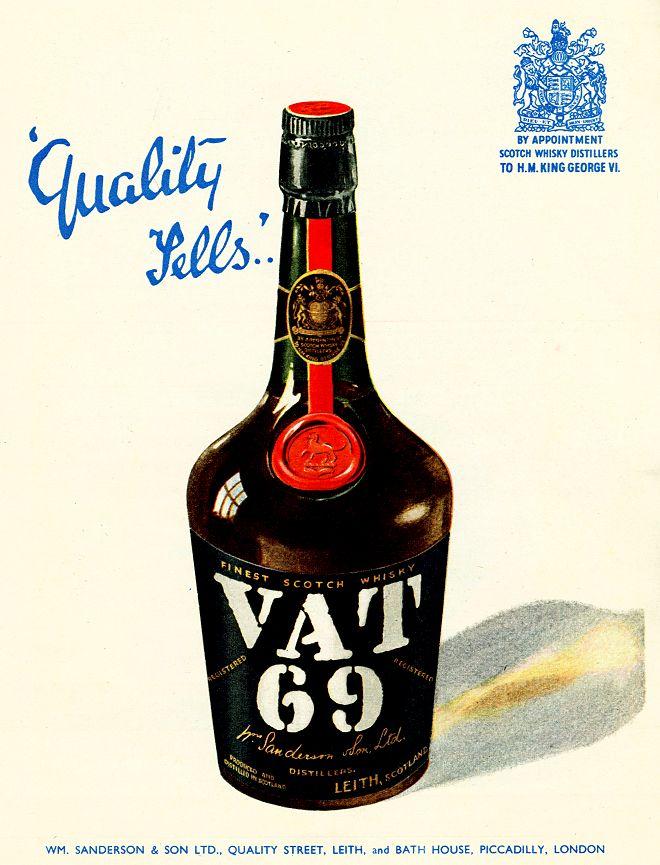 Advert Museum Vat 69