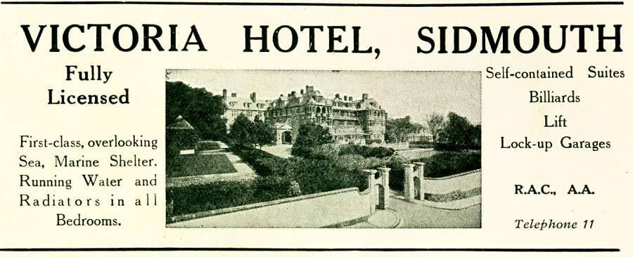 Victoria Hotel, Sidmouth