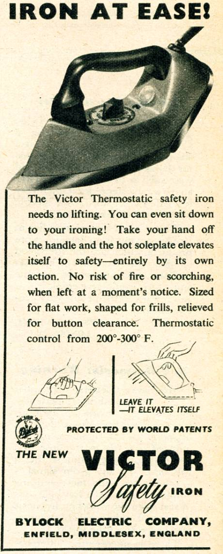 Victor Safety Iron