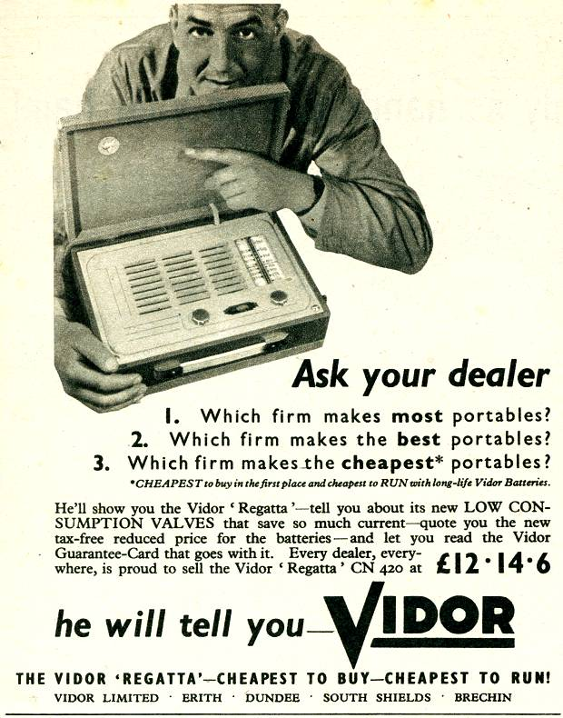 Vidor Portables