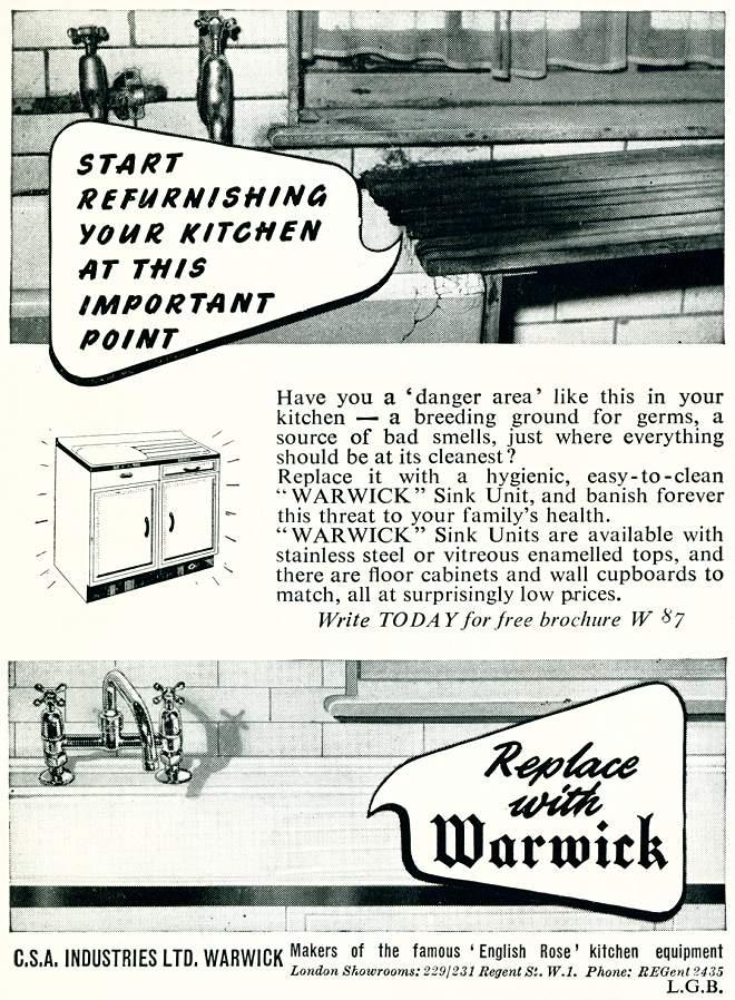 Warwick Sink Units