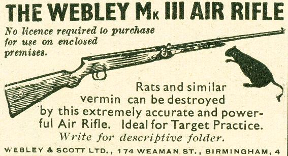 Webley Mk III Air Rifle