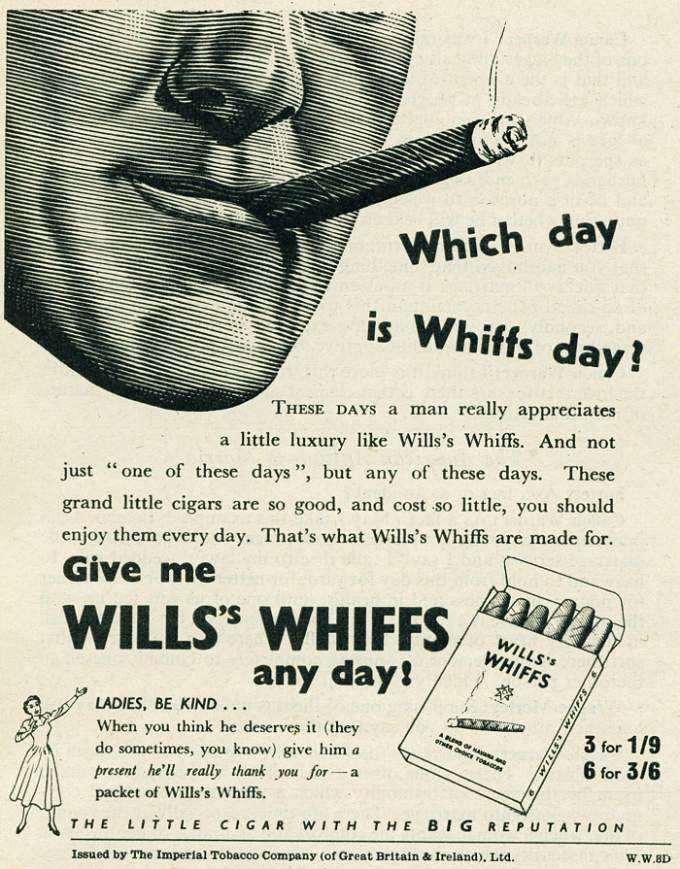 Wills's Whiffs