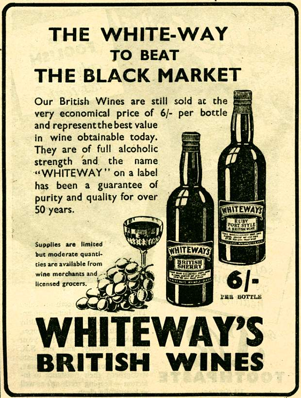 Whiteway's British Wines