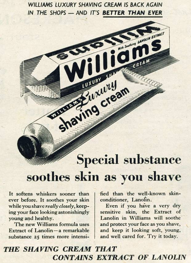 Williams Shaving Cream