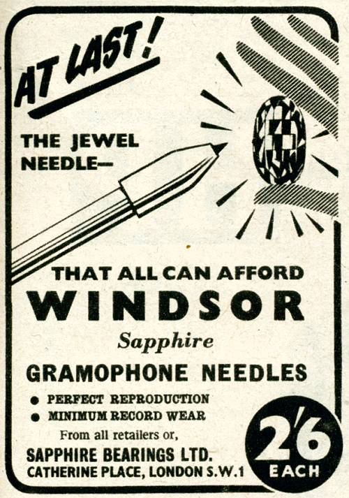 Windsor Gramophone Needles