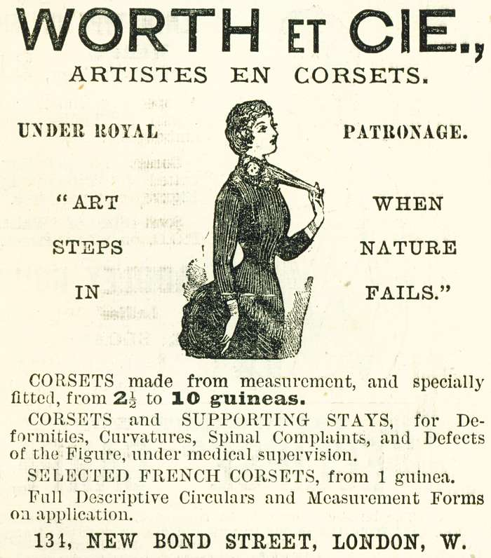 Worth Et Cie., Artistes En Corsets