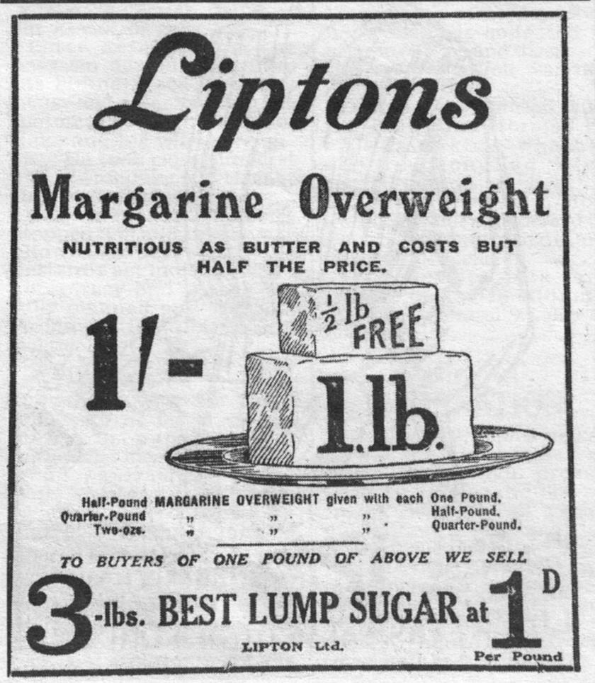 Liptons Margarine