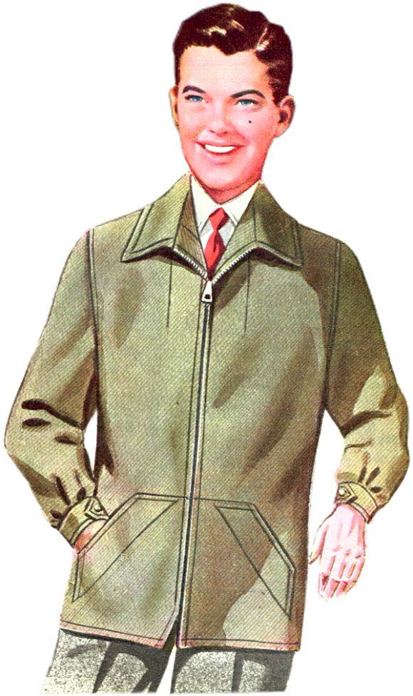 Hip Length Zip Jacket