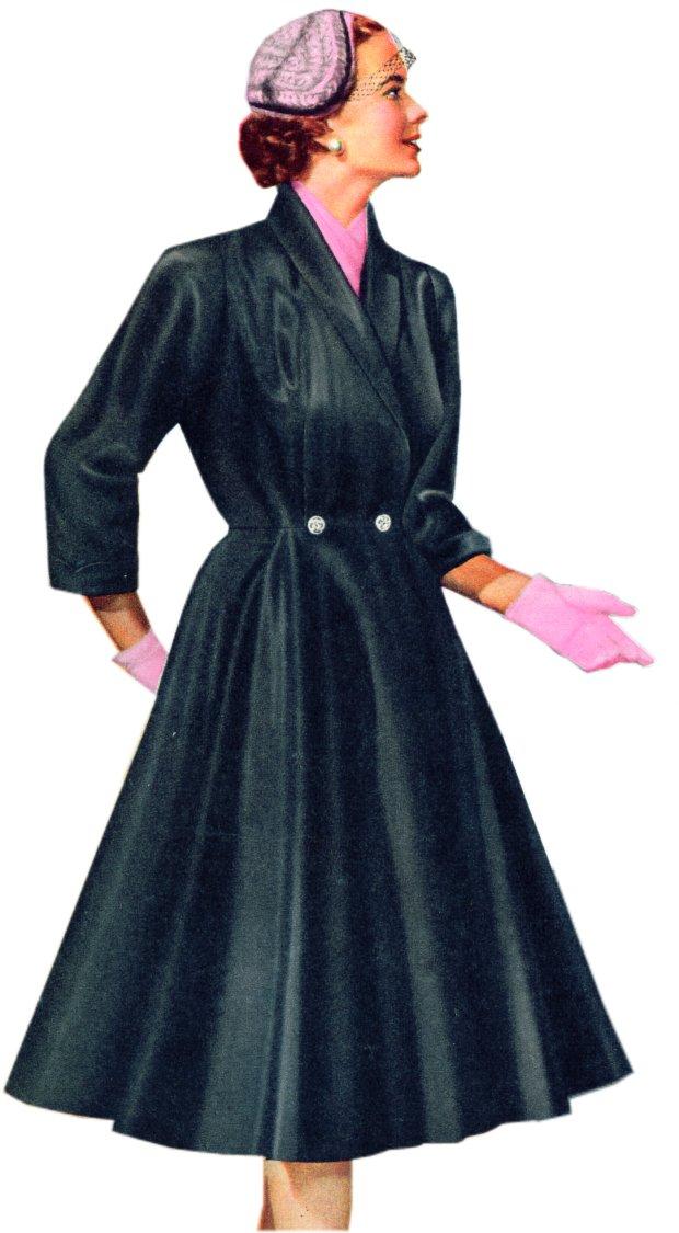Unlined Grosgrain Coat