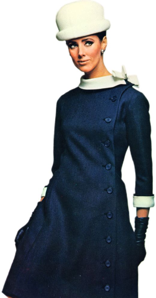 Molyneux Princess-Line Coat Dress
