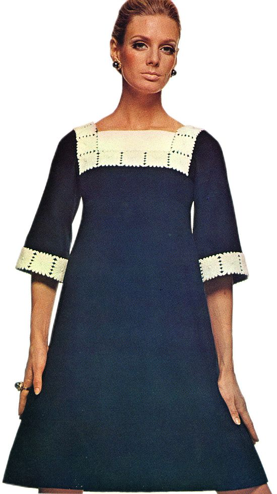Yves Saint Laurent Empire-Cut Dress