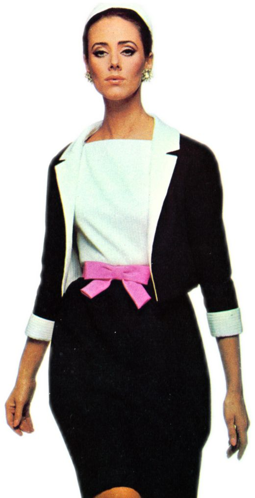 Molyneux Open Jacket and Sleeveless Dress