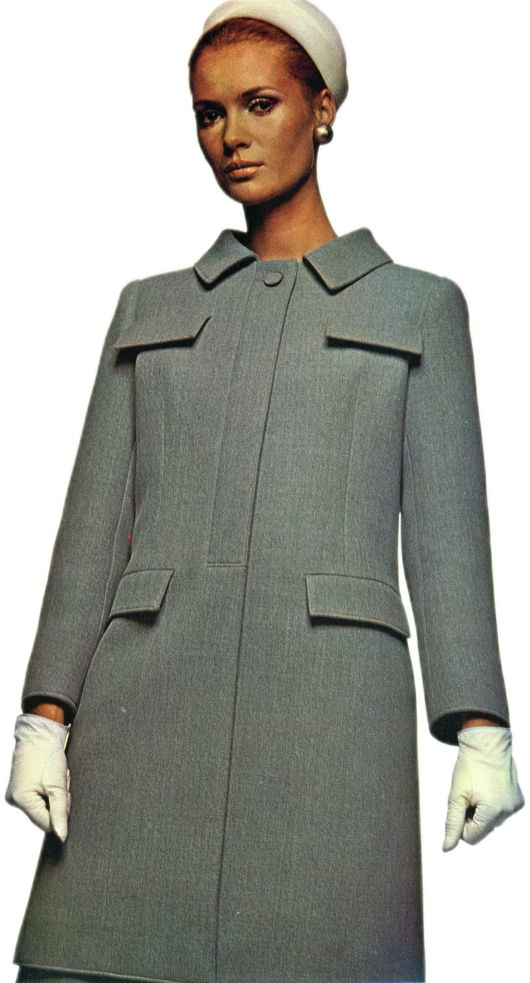 Ricci Seven-Eighths Length Coat