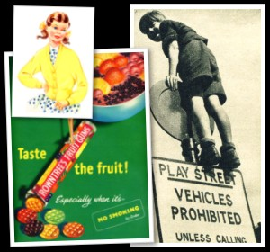 Britain's History in Old Photos and Vintage Adverts