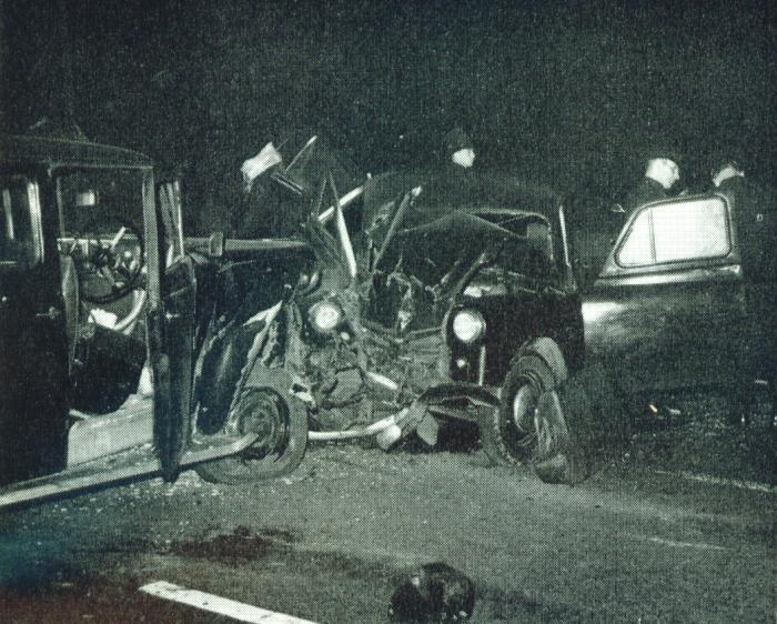 Car crash, Manchester