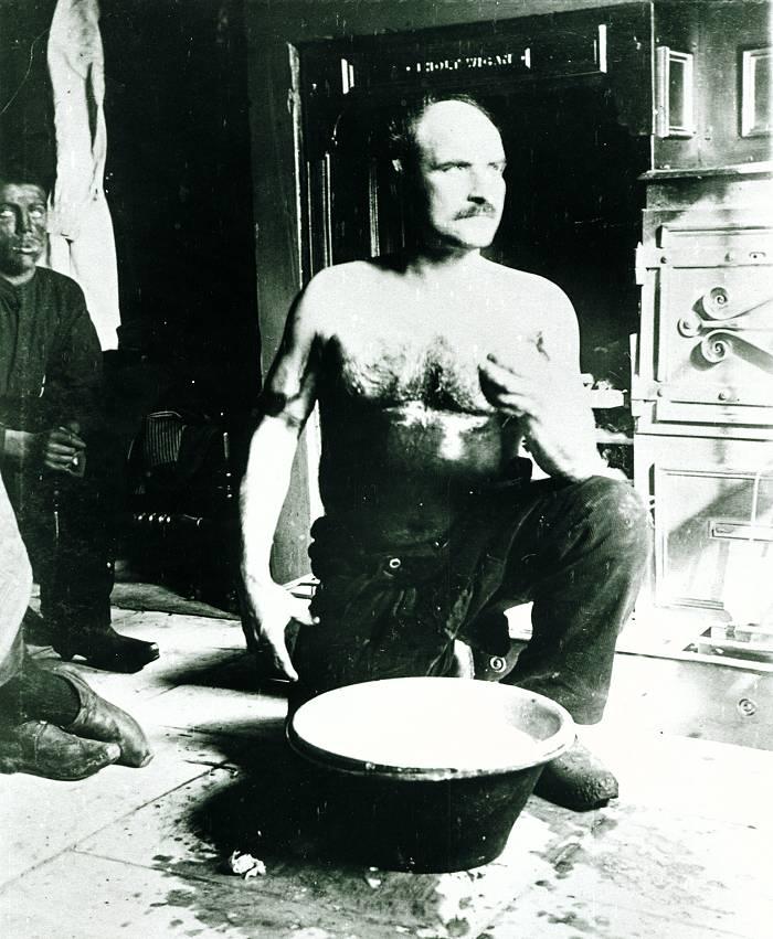 Miner Washing