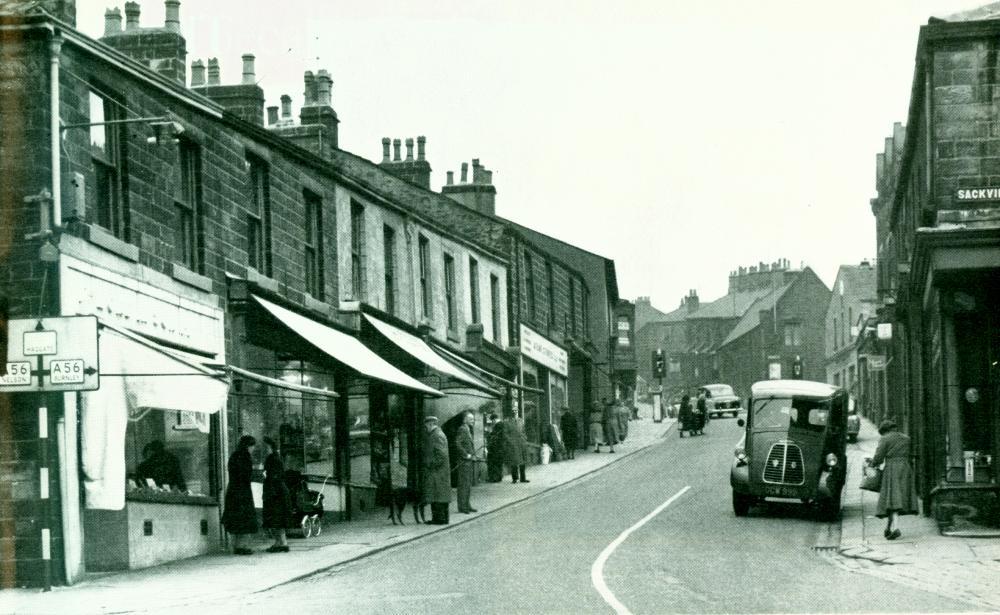 Railway Street, Brierfield, 1957