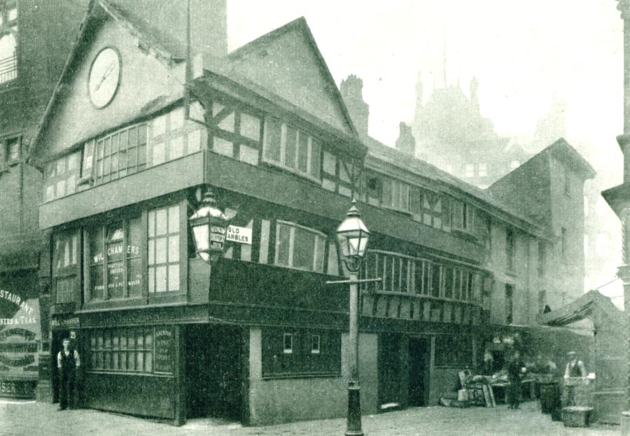 Wellington Inn, Manchester, 1900